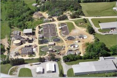 Aerial View of the Hanover Wastewater Treatment Facility