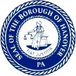 Seal of the Borough of Hanover PA